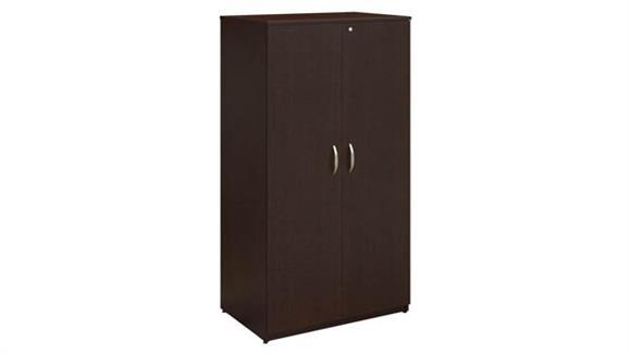 "Wardrobe Armoires Bush 36""W x 66""H Wardrobe Storage Cabinet"