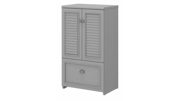 Storage Cabinets Bush Storage Cabinet with Doors