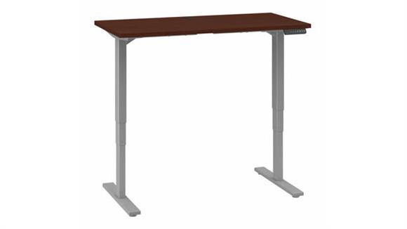 "Adjustable Height Desks & Tables Bush 48""W x 24""D Electric Height Adjustable Standing Desk"