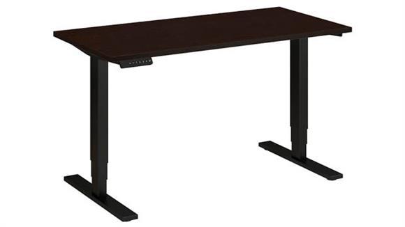 "Adjustable Height Desks & Tables Bush 48""W x 24""D Height Adjustable Standing Desk"