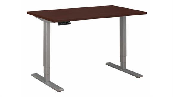 "Adjustable Height Desks & Tables Bush 48""W x 30""D Electric Height Adjustable Standing Desk"