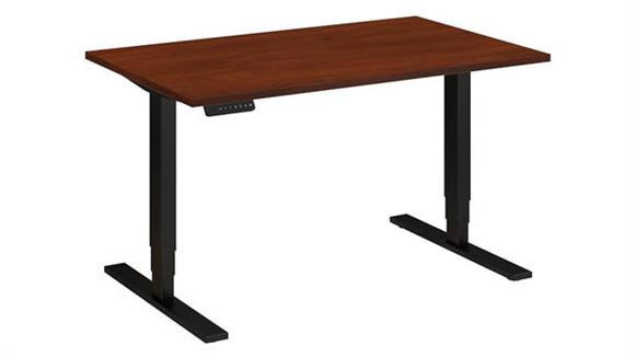 "Adjustable Height Desks & Tables Bush 48""W x 30""D Height Adjustable Desk"