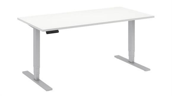 "Adjustable Height Desks & Tables Bush 60""W x 30""D Height Adjustable Standing Desk"