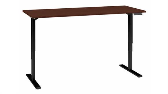 "Adjustable Height Desks & Tables Bush 72""W x 30""D Electric Height Adjustable Standing Desk"