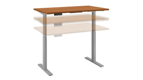 "Adjustable Height Desks & Tables Bush 48""W x 24""D Height Adjustable Standing Desk"
