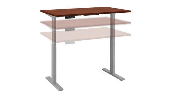 "Adjustable Height Desks & Tables Bush 48""W x 30""D Height Adjustable Standing Desk"