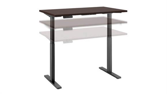 "Adjustable Height Desks & Tables Bush 48""W x 30""D Height Adjustable Standing Desk"