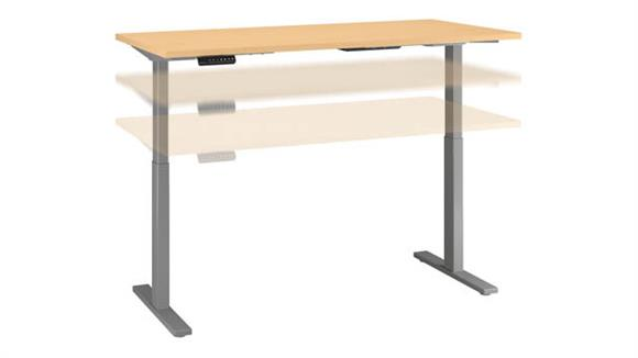 "Adjustable Height Desks & Tables Bush 60""W x 30""D Height Adjustable Standing Desk"