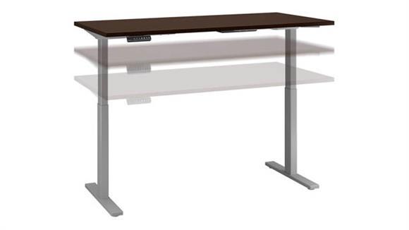 "Adjustable Height Desks & Tables Bush 72""W x 30""D Height Adjustable Standing Desk"