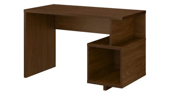 """Writing Desks Bush 48""""W Writing Desk with Storage Cubby"""