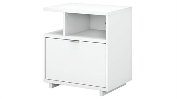 File Cabinets Lateral Bush Lateral File Cabinet with Shelves
