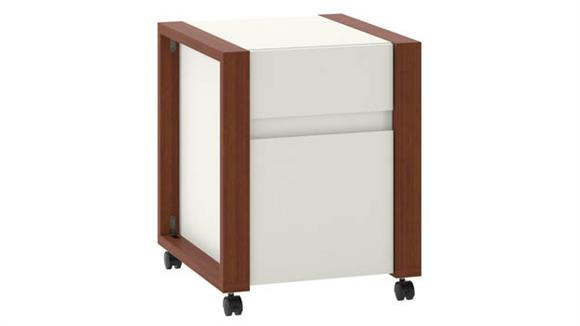 Mobile File Cabinets Bush 2 Drawer Mobile File Cabinet