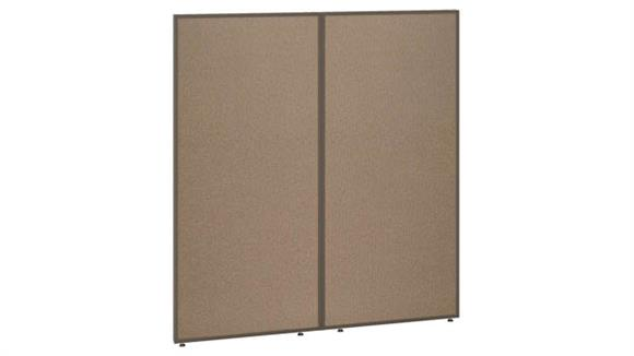 """Office Panels & Partitions Bush 66""""H x 60""""W Office Partition"""