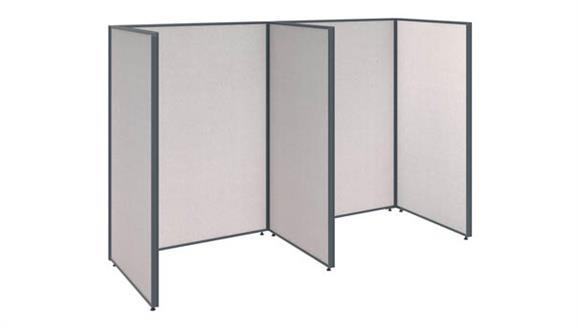 Office Panels & Partitions Bush 2 Person Open Cubicle Office Panels