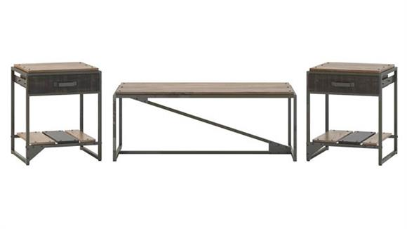 Coffee Tables Bush Coffee Table with Set of 2 End Tables