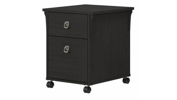 Mobile File Cabinets Bush 2 Drawer Mobile File Cabinet