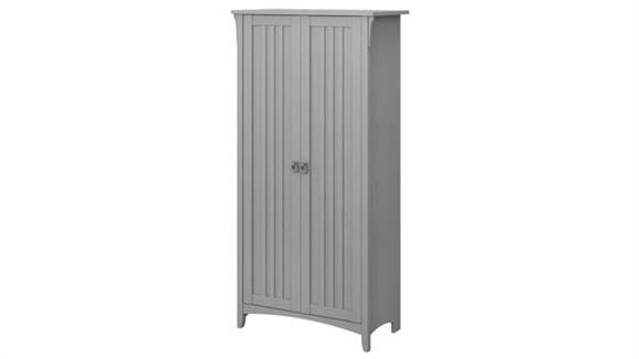 "Storage Cabinets Bush 63""H Storage Cabinet with Doors"