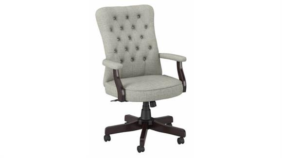 Office Chairs Bush High Back Tufted Office Chair with Arms