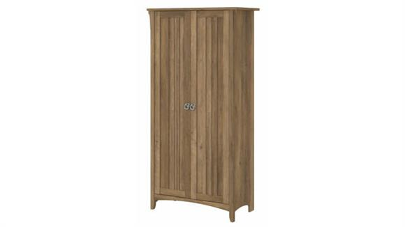 Storage Cabinets Bush Tall Storage Cabinet with Doors