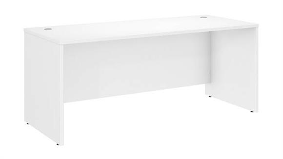 """Computer Desks Bush 72""""W x 30""""D Office Desk"""