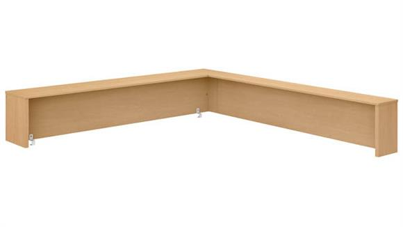 "Desk Parts & Accessories Bush 72""W L-Shaped Reception Desk Shelf"