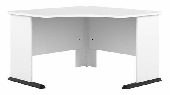 "Corner Desks Bush 48"" W Corner Computer Desk"