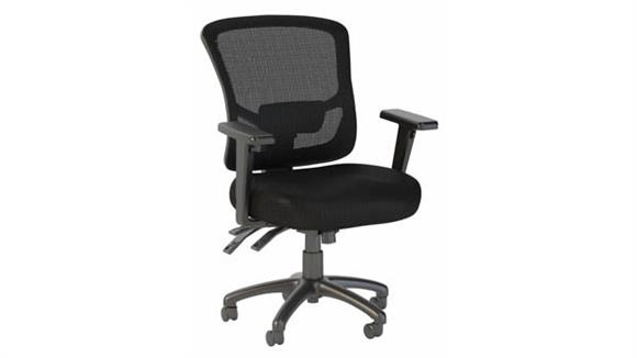 Office Chairs Bush Mid Back Multifunction Mesh Executive Office Chair