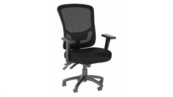 Office Chairs Bush High Back Multifunction Mesh Executive Office Chair