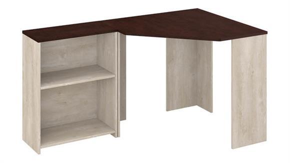 Corner Desks Bush Corner Desk with 2 Shelf Bookcase