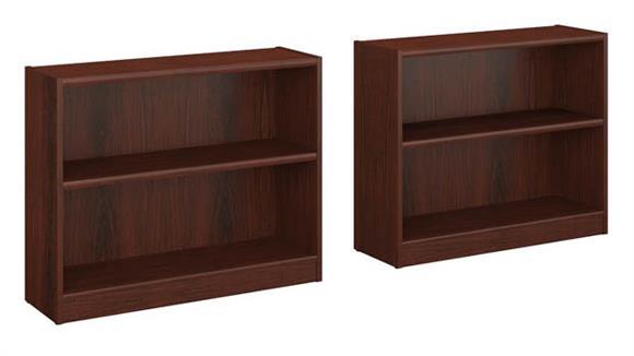 Bookcases Bush 2 Shelf Bookcase - Set of 2