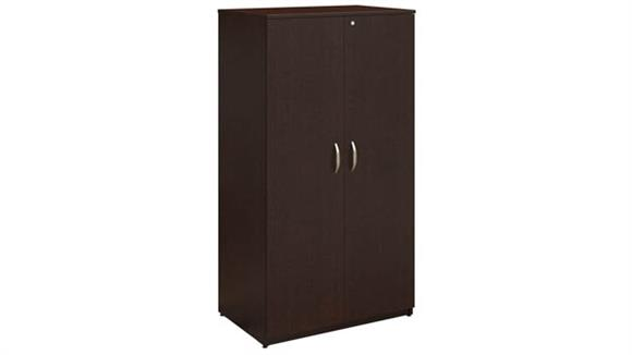 "Wardrobe Armoires Bush 36""W Storage Wardrobe Tower"