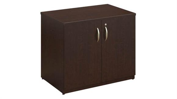 "Storage Cabinets Bush 36""W Storage Cabinet Assembled"