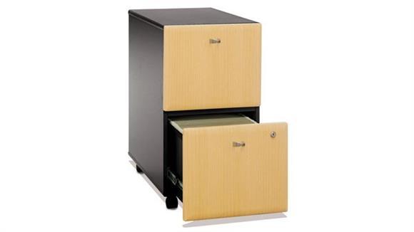 Mobile File Cabinets Bush 2 Drawer Mobile File
