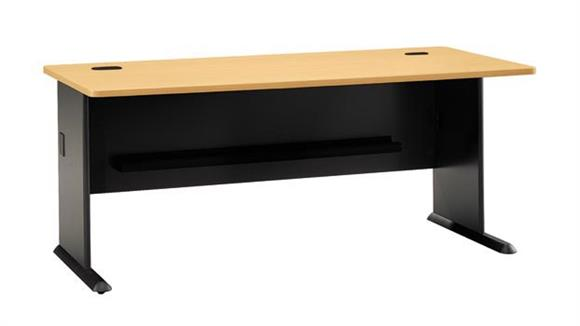 "Modular Desks Bush 72"" Modular Desk"