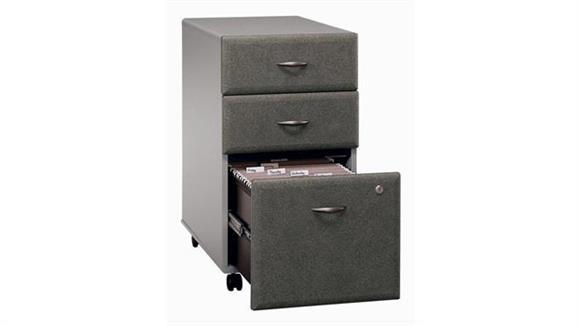 Mobile File Cabinets Bush 3 Drawer Mobile File
