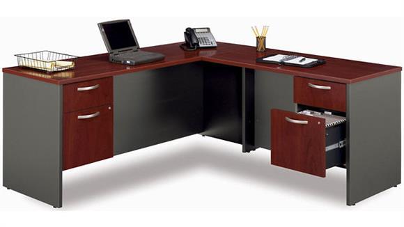 L Shaped Desks Bush L Shaped Desk