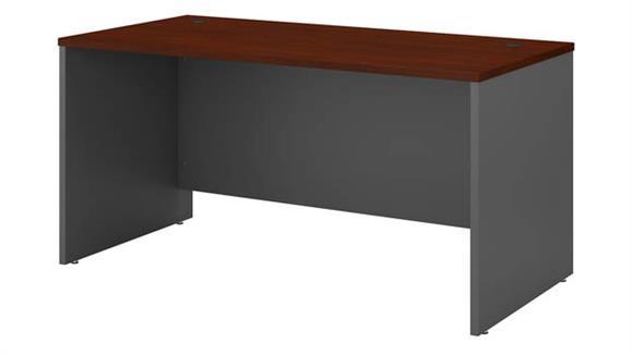 """Computer Desks Bush 60"""" W x 30"""" D Office Desk"""