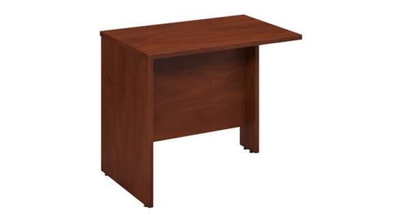 """Desk Parts & Accessories Bush 36""""W x 24""""D Bridge / Return"""