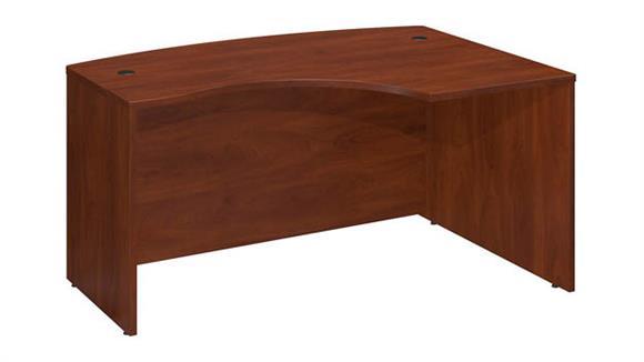 "Executive Desks Bush 60""W x 43""D Right Hand L-Bow Desk Shell"