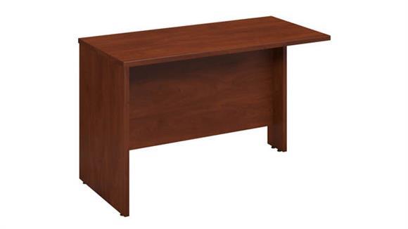 """Desk Parts & Accessories Bush 48""""W x 24""""D Bridge / Return"""