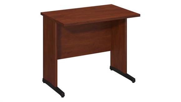 """Executive Desks Bush 36""""W x 24""""D C-Leg Desk"""