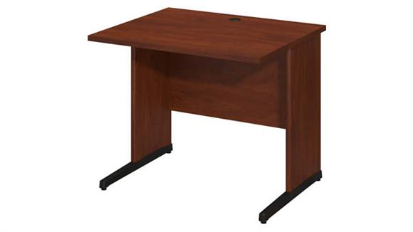 """Executive Desks Bush 36""""W x 30""""D C-Leg Desk"""