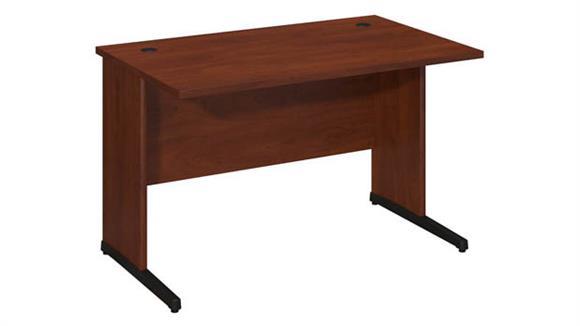 """Executive Desks Bush 48""""W x 30""""D C-Leg Desk"""