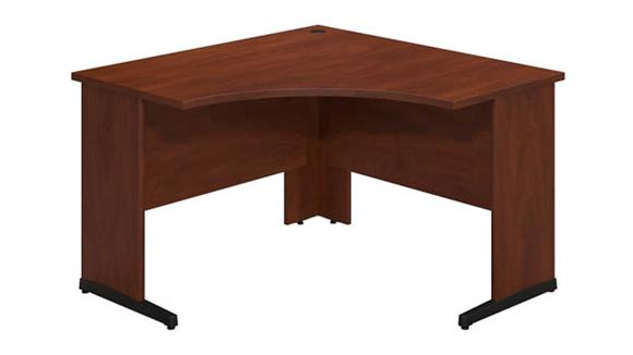 "Corner Desks Bush 48""W x 48""D C-Leg Corner Desk"
