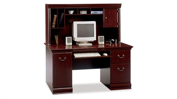Computer Desks Bush Computer Desk with Hutch