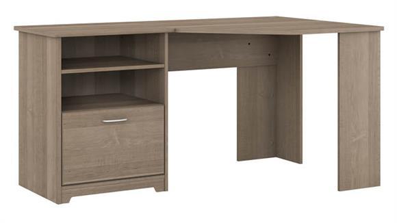 """Corner Desks Bush 60"""" W Corner Desk with Storage"""