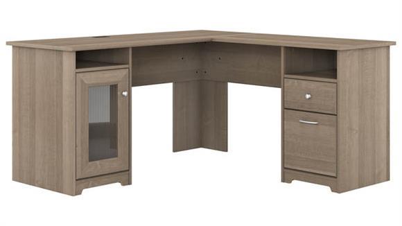 """L Shaped Desks Bush 60""""W L-Shaped Computer Desk"""