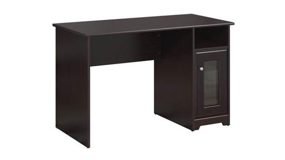 "Compact Desks Bush 48""W Single Pedestal Desk"