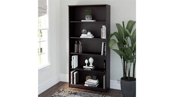 Bookcases Bush 5 Shelf Bookcase