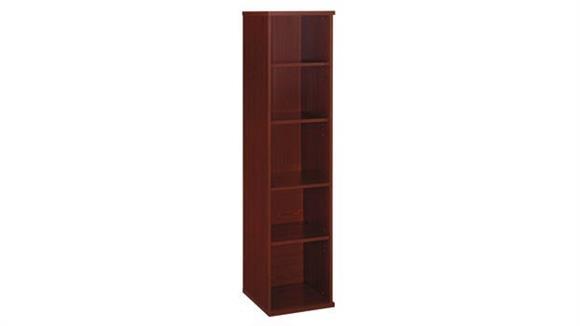 """Bookcases Bush 18""""W 5 Shelf Bookcase"""